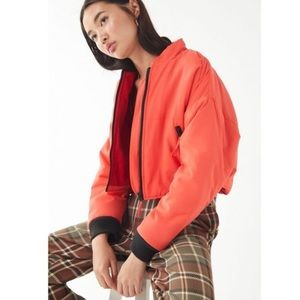 URBAN OUTFITTERS remy cropped ski jacket